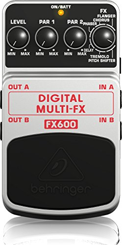 - Behringer Digital Multi-FX FX600 Digital Stereo Multi-Effects Pedal