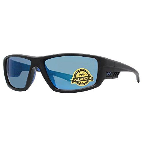 duck commander Men's D856 MT2 Mirrored Polarized Sunglasses, Matte - Duck Commander Sunglasses