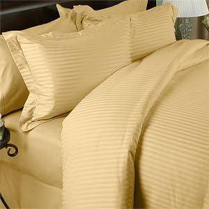 Muy suave y elegante 4 pc juego de sábanas de 500 hilos Reina 100 ...
