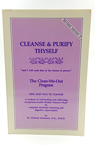 Cleanse and Purify Thyself: The Clean-Me-Out Program ()