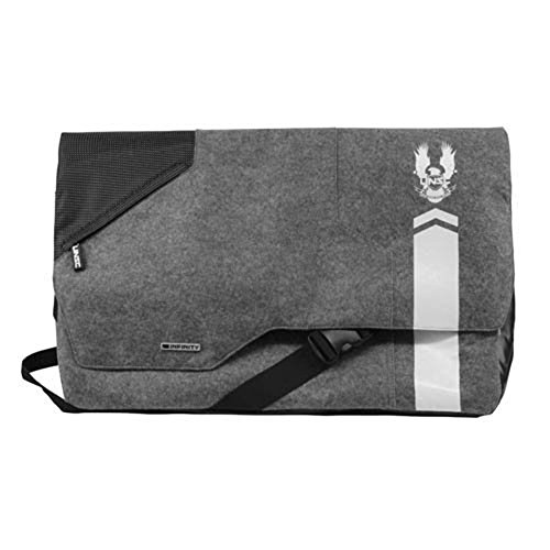 "Licensed Halo Infinity Courier Messenger Bag Size: Approx. 14"" H x 21.5"" W x 6"" (Halo Messenger Bag)"