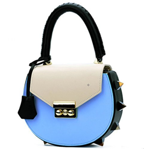 Sac Sac Lady Sac à Main De Style Occasionnel Mode Bandoulière étudiant à Whiteblue Messager vRwvxrT