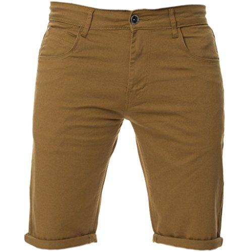 KRUZE Stretch Shorts KZS104 TAN
