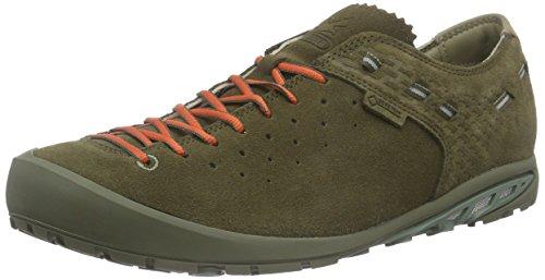 Salewa Men's Ramble GTX Alpine Lifestyle Shoe, Truffle/Fluela, 10.5 M (Traveler Gore Tex)