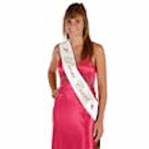 Into The Wind Homecoming Court Sash Banner -
