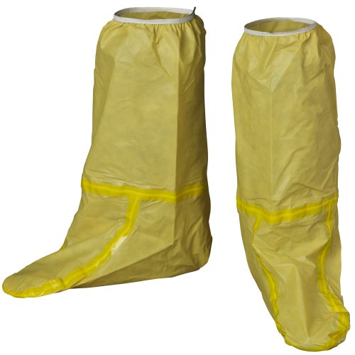 lakeland-chemmax-1-taped-seam-boot-cover-disposable-yellow-case-of-12