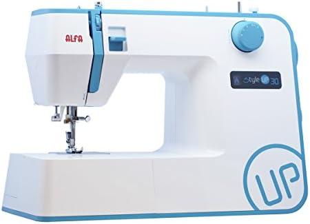 Alfa Style UP 30 - Máquina de Coser, Color Azul: Amazon.es: Hogar