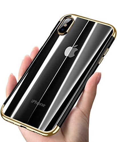 ANOLE Case Apple iPhone Xs Max, Ultra-Thin Clear Soft Flexible TPU Slim #05