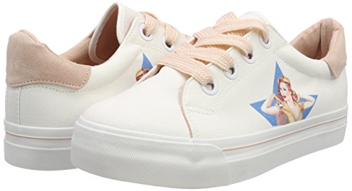Trainers Pink 080 Women''s Tamaris White 23652 Lady wht EOP7Fqcw