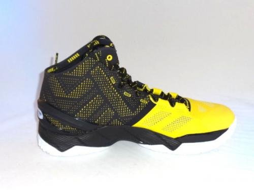 Stephen Curry Golden State Warriors Signed Game Model Under Armour Shoe PSA/DNA Certified Autographed NBA Sneakers