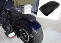 """Condition: 100% Brand New Color: Black Seat Material: Synthetic leather Aftermarket part , No installation instruction Seat size: 11 7/16"""" (L) x 8 1/8"""" (W) Package: 1pc seat Fitment: Most of the Harley Motorcycle / Cruiser / Chopper / Custom ..."""