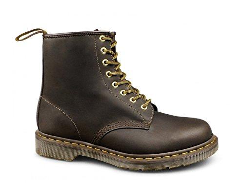 Dr. Martens Unisex-volwassenen 1460 Combat Boots Bruin Crazyhorse Lederen