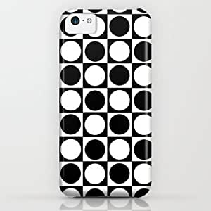 Society6 - Black And White Pattern iPhone & iPod Case by Bianca Lopomo