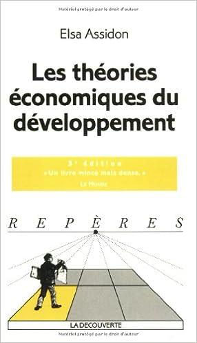 En ligne téléchargement gratuit Les théories économiques du développement pdf