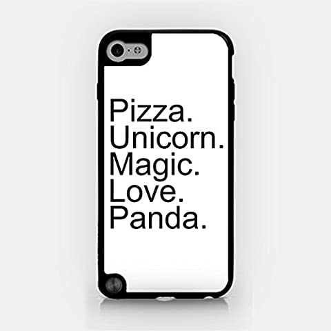 for iPod Touch Gen 5 - Pizza. Unicorn. Magic. Love. Panda. - Good Things In Life - Hipster (Frozen Ipod Cases 5th Generation)