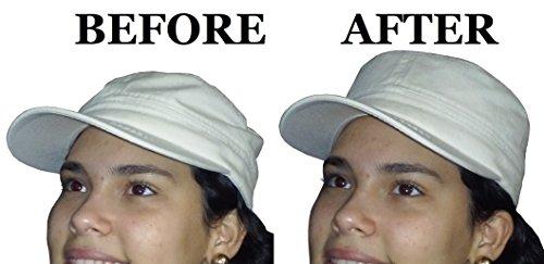 3Pk. Military Hat Crown Half Shaper| Army Cap Shaper| Liner| Hat Storage (Black) by Shapers Image (Image #2)