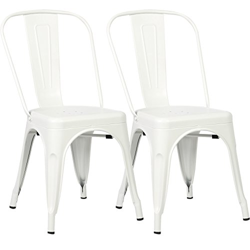 The 10 best white metal chairs set of 2