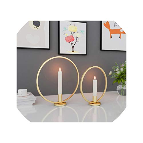 3D Geometric Candlestick Metal Wall Candle Holder Sconce Home Decor Nordic Style hot,Square Black 29CM