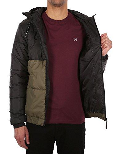 IRIEDAILY Stagger Hood Jacket [black olive]