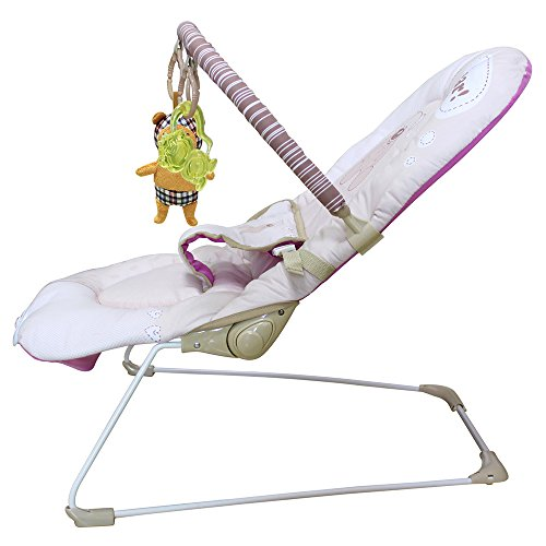 Great Deal! Ametoys Toddler Rocker 3 Grades Adjustable Baby Seat Portable Rocking Chair Infant Bounc...