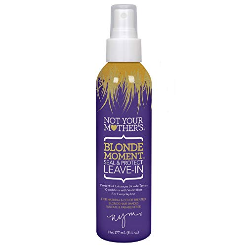 Not Your Mother's Hair BLONDE MOMENT Leave in Conditioner, 6 oz