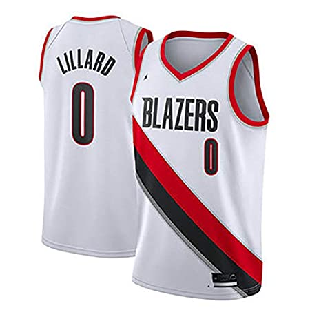 Portland Trail Blazers Damien Lillard No Classic Sleeveless Damian Lillard Basketball Jersey S-XXL-Mens League Best Gift 0#