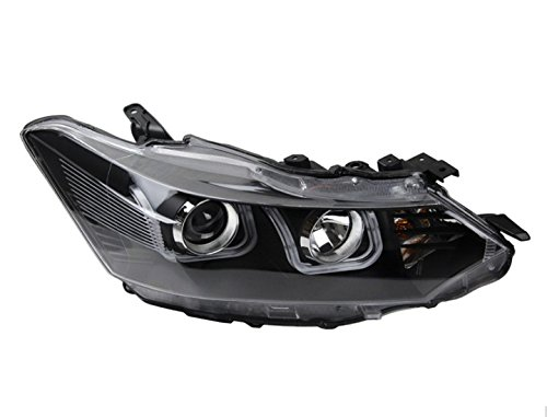 GOWE Car Styling For Toyota Vios headlights 2014-2016 Vios led headlight Head Lamp led drl projector headlight H7 hid Bi-Xenon Color Temperature:6000K Wattage:55W 0