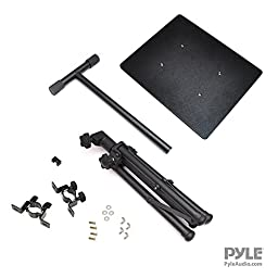 Pyle Pro PLPTS3 Adjustable Tripod Laptop Projector Stand, 28\
