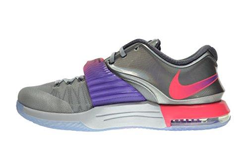 Nike Kd Vii As All Star Scarpe Da Uomo Puro Platino / Multicolor-nero 742548-090