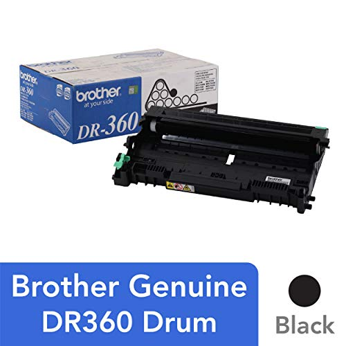 Brother Genuine Drum Unit, DR360, Seamless Integration, Yields Up to 12,000 Pages, Black ()