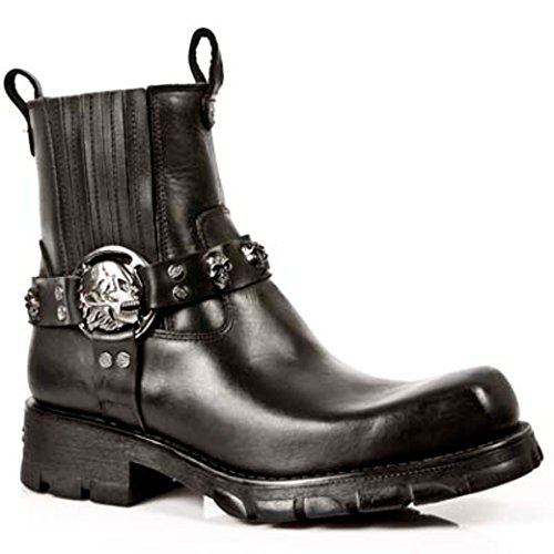 New Rock NEWROCK Nr M.7621 S1 Black Boots - Mens NmWCps