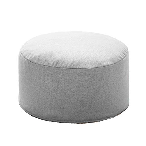 Amazon Com Footstool Pouf Round Upholstered Footrest
