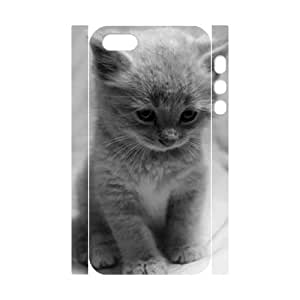 Cats Personalized 3D Cover Case for Iphone 5,5S,customized phone case ygtg-305680