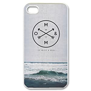 iPhone 4,4S Phone Case Of Mice and Men