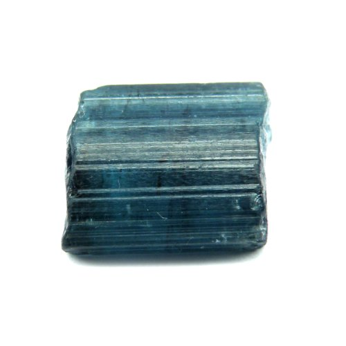 5.00 Ct. Very Rare! Unheated Natural Facet Rough Blue - Very Green Rare Rough