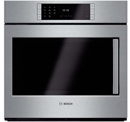 Bosch HBLP451LUC: 30'' Single Wall Oven Left Swing Door Benchmark Series - Stainless Steel