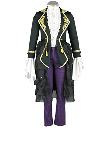 Mtxc Men's Vocaloid Cosplay Costume Sandplay Kamui Gakupo Size XXX-Large (Gakupo Kamui Cosplay Costume)