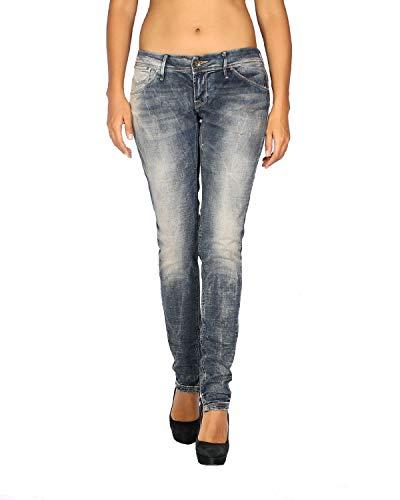 MELTIN'POT - Women's Jeans Marcelle - Skinny Fit - Length 31 - Blue, W24