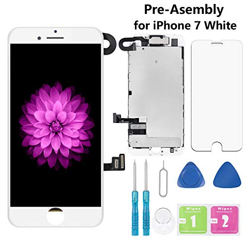 - Screen Replacement for iPhone 7 White 4.7
