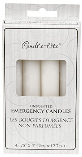 428590 Emergency Candles 4/Pk