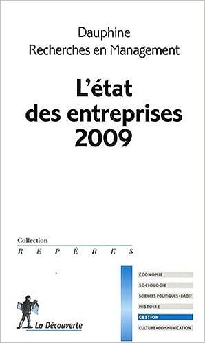 Livres gratuits en ligne L'état des entreprises pdf, epub