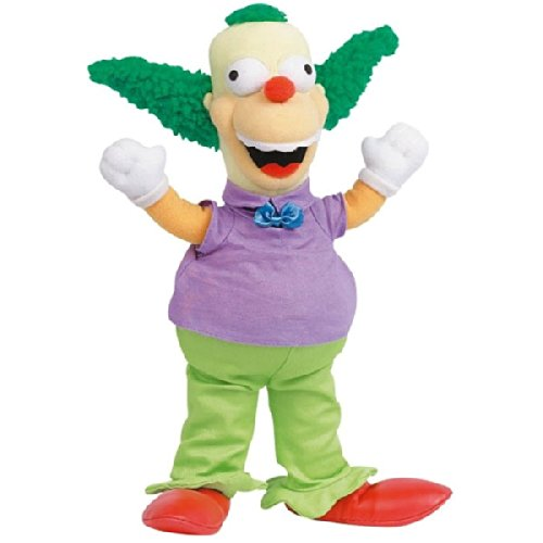 United Labels Peluche Krusty Simpsons 30cmhttps://amzn.to/3j3xpaN