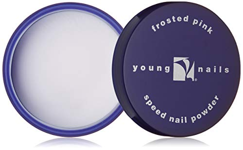 YOUNG NAILS Acrylic Speed Powder, Frost Pink, 85 g.