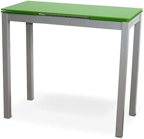 LIQUIDATODO ® - Mesa de cocina extensible con sobre de vidrio ...