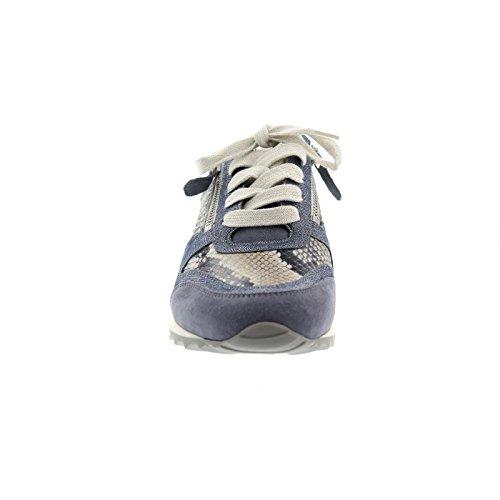 Hassia Barcelona, Weite H, Damen Sneakers, Blau