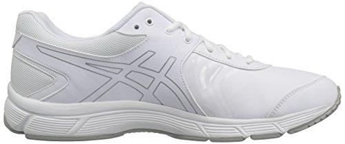 ASICS Herren Gel-Quickwalk 3 SL Laufschuh Weiß / Silber / Weiß