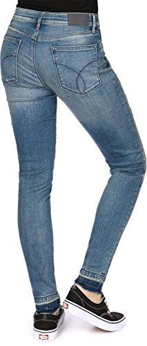 Azul W Skinny Jeans Released Vaquero HR Klein Calvin wPqSpp