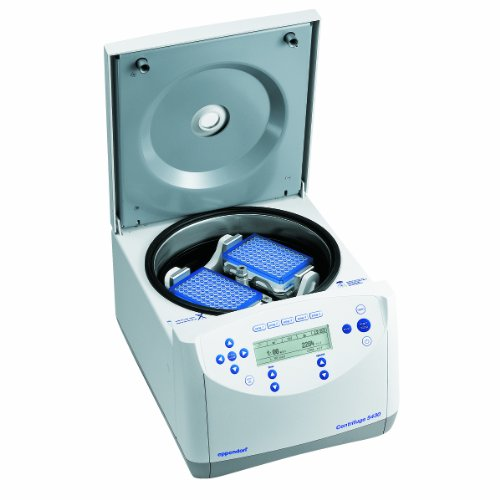 Eppendorf 022620568 5430 Microcentrifuge With Keypad Control and Microplate Swing-Bucket Rotor (A-2-Mtp), 120 V/60 Hz ()