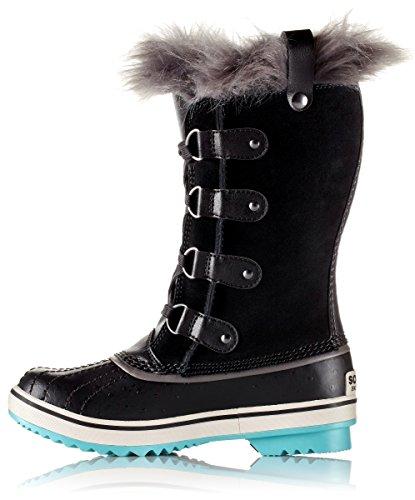 Sorel Girls Youth Tofino Black Iceberg Winter Boot - 7 by SOREL