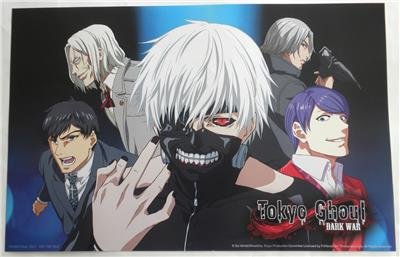 AX Anime Expo 2016 EXCLUSIVE Poster TOKYO GHOUL Dark War